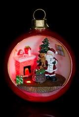 Украшение новогоднее Санта с мишкой