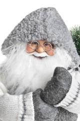 Украшение новогоднее Дед Мороз с елочкой в мешке