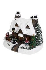 Украшение новогоднее светящееся Сказочный домик