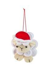 Украшение новогоднее Счастливая овечка
