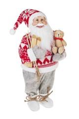 Украшение новогоднее Дед Мороз с мишкой