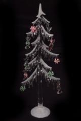 Украшение новогоднее светящееся Елка с подарками