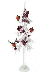 Украшение новогоднее Елка со снегирями