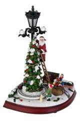 Украшение новогоднее светящееся, музыкальное и двигающееся Звезда на елку