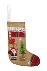 Рождественский носок Носок с Дедушкой Морозом