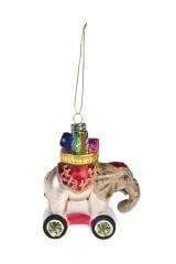 Украшение елочное Цирковой слоник