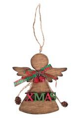 Украшение новогоднее Рождественский ангелочек