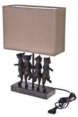 Светильник электрический настольный Танцующие коты