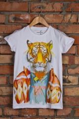 Футболка Тигр-меломан