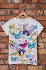 Футболка Нежные бабочки