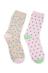 Набор носков женских Арбузики