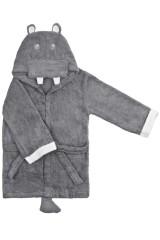 Халат-полотенце детский Хиппо