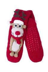 Носки домашние Рождественский олень
