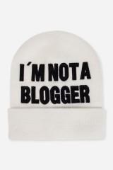 Шапка Не блоггер