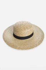 Шляпа летняя , натуральные материалы, молочная