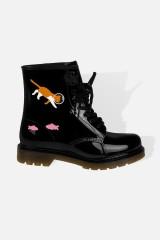 Ботинки резиновые женские Аквариум
