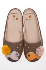 Тапочки домашние женские Милые котики