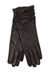 Перчатки удлиненные кожаные Хелен