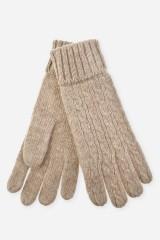 Перчатки шерстяные Аделина