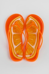 Шлепанцы женские Сочный апельсин