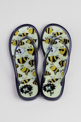 Шлепанцы женские Пчелки
