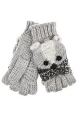 Перчатки-варежки Барсук