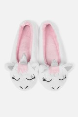 Тапочки домашние женские Единорожка