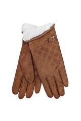 Перчатки замшевые Хотти
