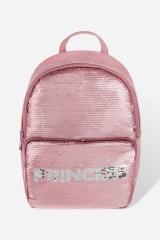 Рюкзак с пайетками Принцесса