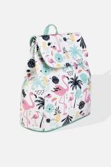 Рюкзак Пальмы и фламинго