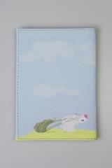 Обложка для паспорта Мишка и зайки