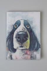 Обложка для паспорта Собачий нос