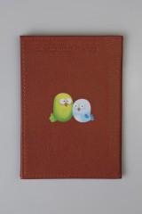 Обложка для паспорта Кот и птички
