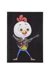 Обложка для паспорта Петя-гитарист