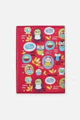 Обложка для паспорта Забавные совы