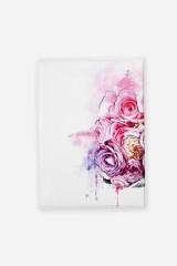 Обложка для паспорта Ежик в цветах