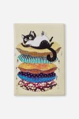Обложка для паспорта Ленивый кот