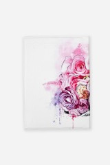 Обложка для автодокументов Ежик в цветах