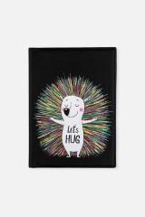 Обложка для паспорта Еж-обнимашка
