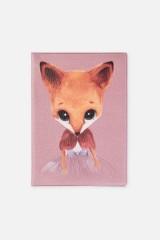 Обложка для паспорта Мисс Фокси