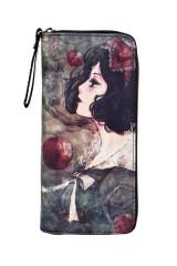 Кошелек Девушка с яблоками