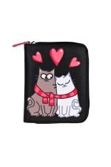 Кошелек Влюбленные коты
