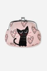Кошелек-косметичка Влюбленный котик