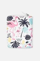 Кошелек Пальмы и фламинго