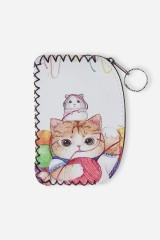 Кошелек для мелочи Котя с клубком