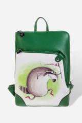 Рюкзак Енот с сачком