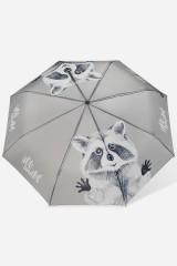 Зонт складной Енот-обнимашка