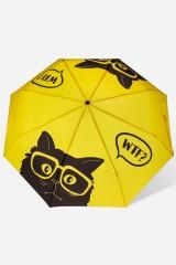 Зонт складной Озадаченный кот