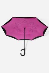 Зонт обратный Сердечки