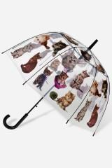 Зонт-трость Такие разные коты